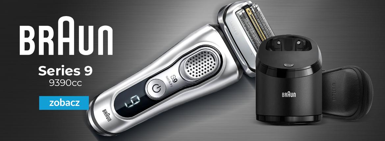 GOLARKA MĘSKA BRAUN 9390cc Clean&Charge